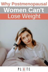 Why Postmenopausal women cannot lose weight