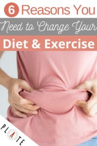 6 Reasons you need to change your diet and exercise
