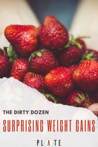 The Dirty Dozen - Foods that cause weight gain.